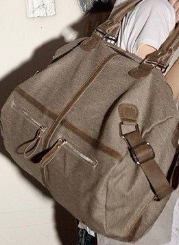 Luxy Bag Cachi Handbag Coffee Spalla Messenger Di Sacchetti Casuali Delle Caffè Canvas Handtassen Khaki Mujer Borse Luna Tote light Totes Donne fTnqAr7Yfx