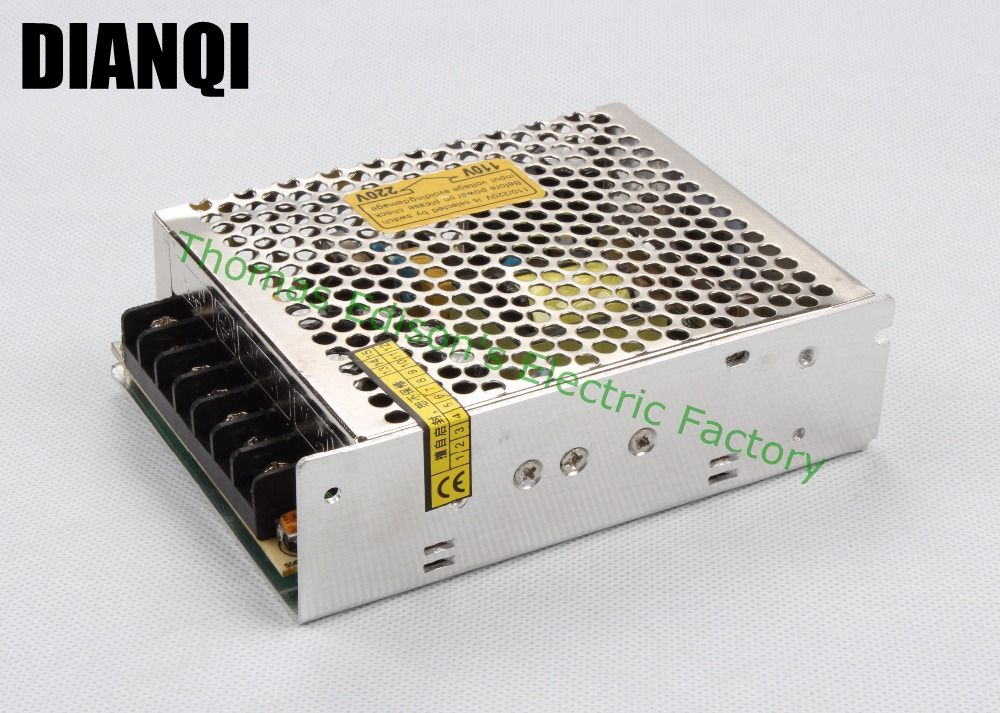 Triple output power supply 40w 5V 3a, 12V 2a,-12V 0.5a power suply T-40B ac dc converter good quality