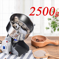 Mill 2500g/4500W Swing Type Electric Dry Food Grinder Coffee/Grains Pepper Stainless Steel Grinding Powder Crusher Kitchen Tools