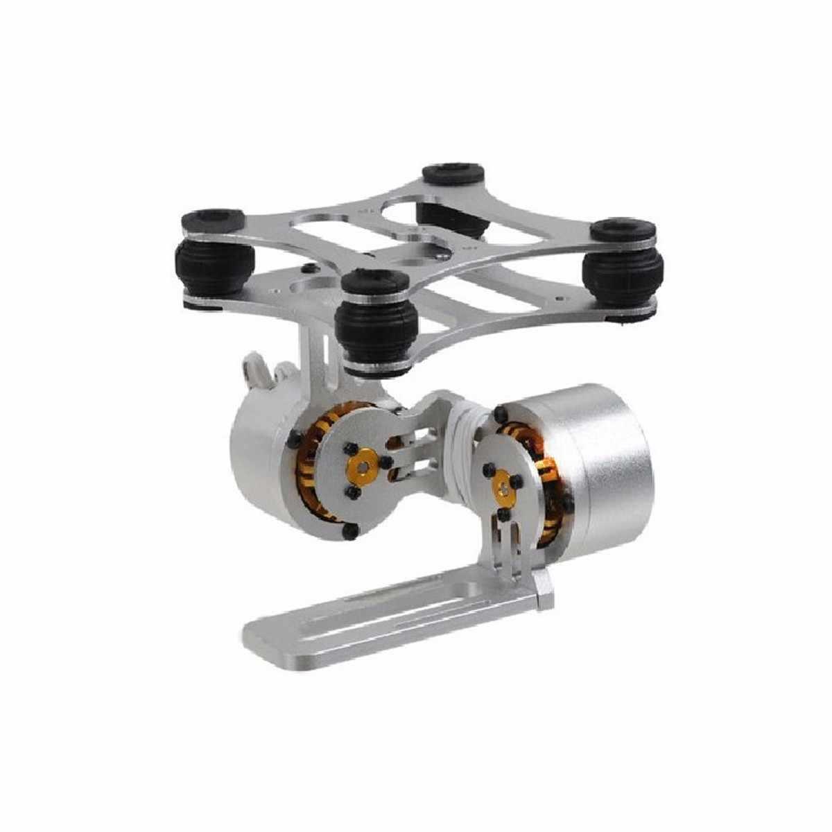 2-алюминиевая ось бесщеточная камера Монтажный комплект NEX ILDC Camera stabilizer для Gopro2 3 для DJI Phantom Сделай сам Установка Запчасти аэрофотосъемки Применение