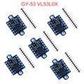 5 шт GY-53 VL53L0X лазерной Сенсор Breakout модуль для Arduino IOF инфракрасный ИК-модуль Serial ШИМ IIC VL53L0X + STM32
