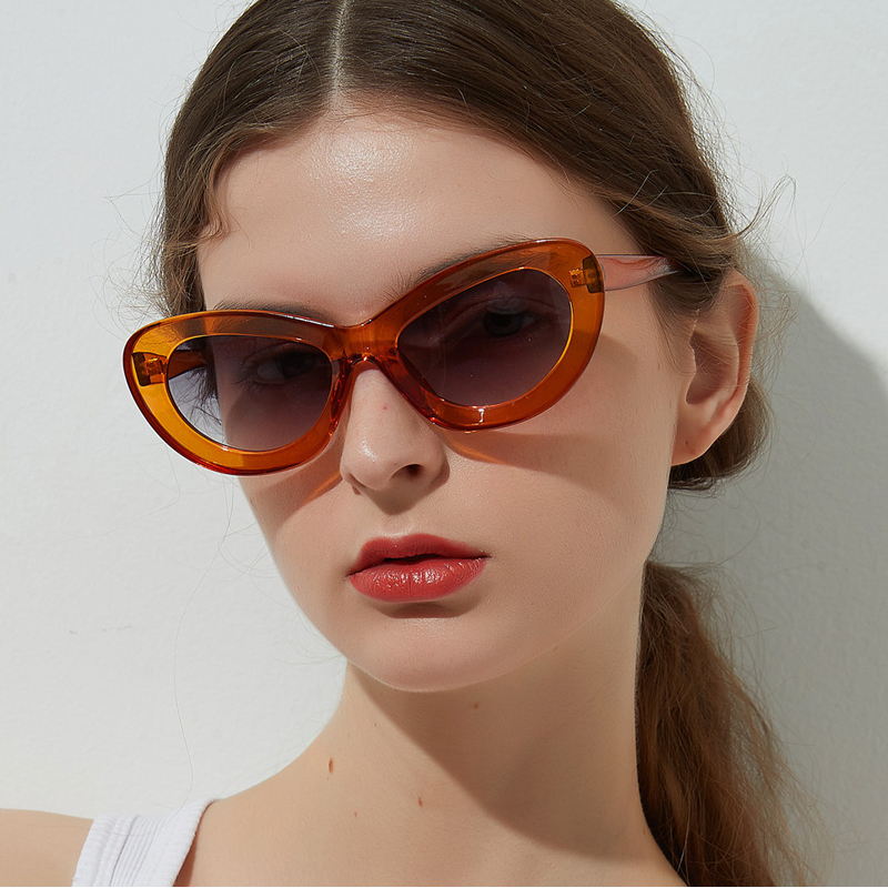2018 Vintage Oval Sunglasses Women Men Classic Eyewear Accessories Uv400 Sun Glasses For Women Shades White Oculos 5258m