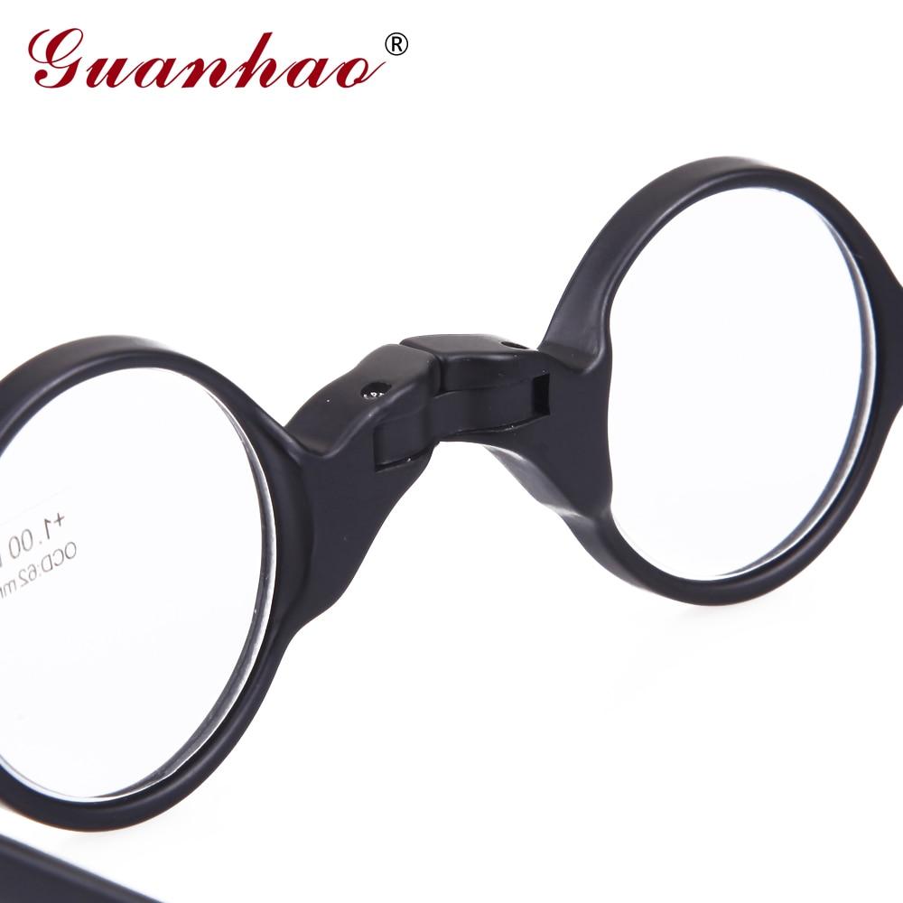 Guanhao Vintage Lesebrille Faltbare Männer Frauen TR90 Rahmen - Bekleidungszubehör - Foto 4