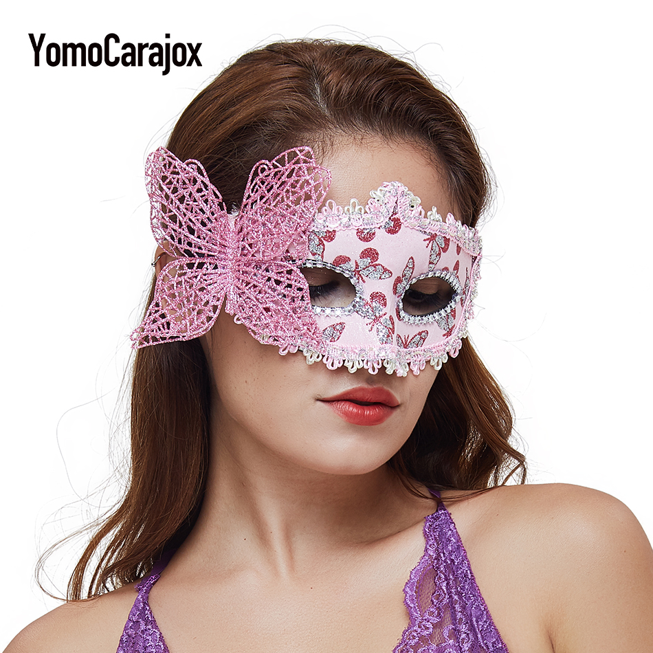 Accessories Exotic Apparel Party 2017 Sexy Hollow Mask  Nightclub for Women  Queen Female Lingerie Fun Play  Masks