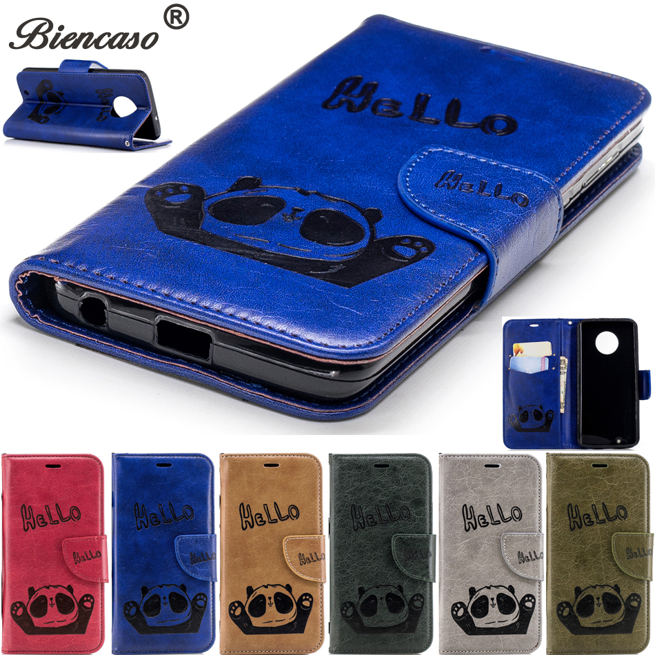 Retro Leather Phone Case For Iphone 6s 7 Plus 5s Se 5 Panda Stand Tpu Cover Flip Cases For Iphone X 10 8 Plus 6 S Coque Bag B117