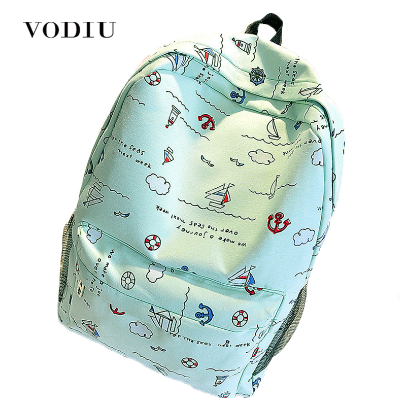 Korean style cute graffiti anime zipper school canvas bags teen girls large backpack notebook travel red mochilas women female sosw fashion anime theme death note cosplay notebook new school large writing journal 20 5cm 14 5cm