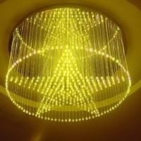 Modern Wireless Chandelier Ceiling Decoration FY 27 003 120pcs 0.75mm*3 4M LED Fiber Optic Pendant Lamp Ceiling Light