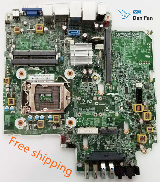 US $57 0 5% OFF|696559 001 737729 001 729087 501 For HP EliteDesk 800 G1  USDT Motherboard 696557 002 696558 000 Mainboard 100%tested fully work -in