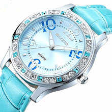 SKONE Relojes de las mujeres mujeres top famosa Marca De Lujo Casual mujer Reloj de Cuarzo de Las Señoras relojes Relojes de Las Mujeres relogio feminino