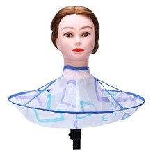 Cloak Umbrella-Cape Wrap Gown Hairdresser Salon Hair-Cutting Foldable Waterproof 1pcs