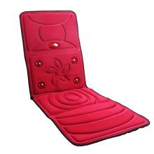 Full-Body Massager Health Care Health Monitors Far-infrared heating Massage Mattress Cushion Vibration Head Body Foot Massage