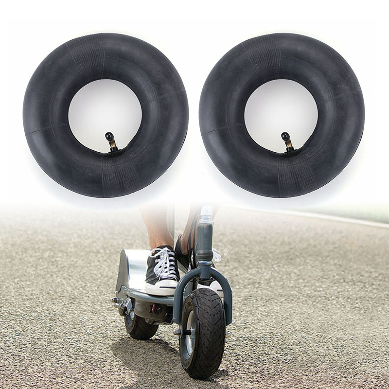 wear resistance Replacement <font><b>3.00</b></font>-<font><b>4</b></font> Inner <font><b>Tube</b></font> for Electric Razor Scooter Wheel Tire Accessories Material: Rubber image