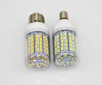 100X LED Light Ultra bright E14 E27 LED Light Bulbs Corn Bulb 30W SMD 5730 With Cover 96 led Warm White Cool White 110V/220V