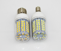 100X LED Light Ultra bright E14 E27 LED Light Bulbs Corn Bulb 30W SMD 5730 With Cover 96 led Warm White Cool White 110V/220V