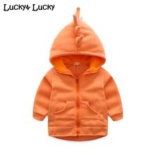 2016 New baby coat hooded outwears for baby boys and girls long sleeve jeacket
