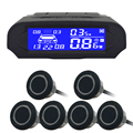 6/sensors NY8080 Car LCD Parking Sensor Kit Display for all cars parking car detector parking assistance parking sensor