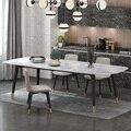 Кухонный обеденный стол с искусственным мрамором  длина 1 6-2 0 М  CE-FD02