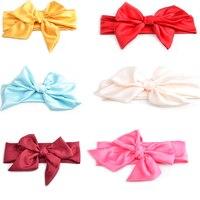 10Pcs Cute Kids Girl Baby Bow Headband Hair Band Accessories Headwear