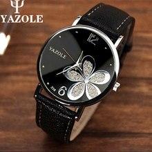 YAZOLE Women's watch the top luxury famous brand wristwatches fashion leisure clock reloj masculino women quartz watch