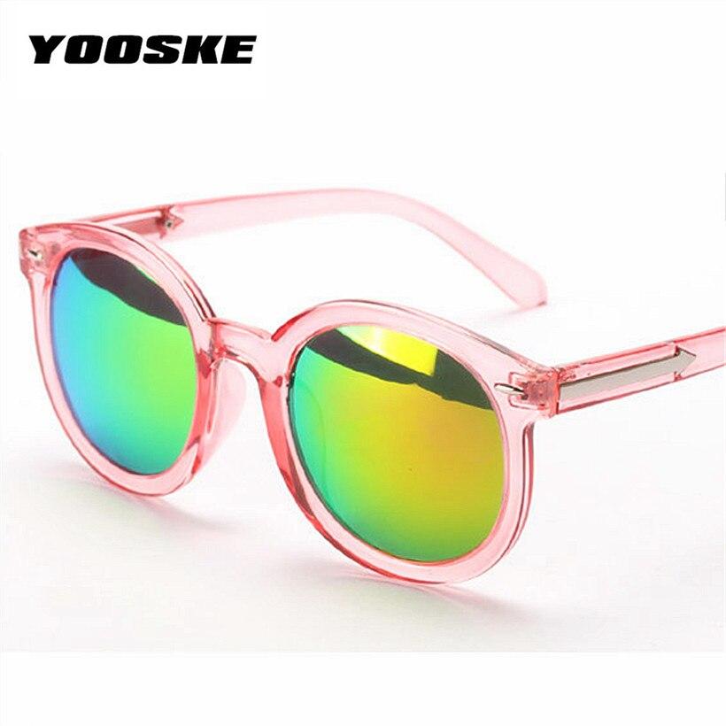 d910f406f3e8da YOOSKE Surdimensionné Rose Miroir Vintage Femmes lunettes de Soleil de  Marque Rétro Femme Lunettes de Soleil Cat Eye Femmes Lunettes Féminin