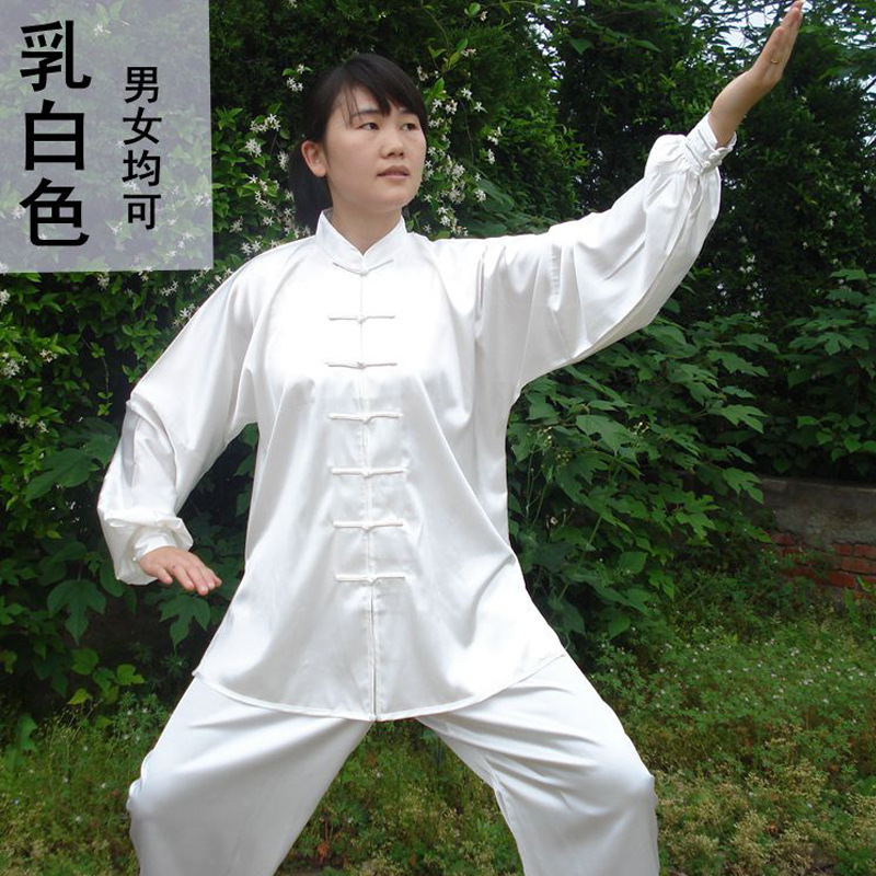 New Chinese Kung Fu Uniforms Long Sleeve Tai Chi Clothing South Korea Martial Arts Costume Wushu Performance Suit