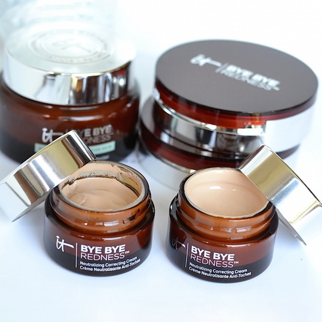 Concealer Cream Makeup It Cosmetics Full Coverage Redness Neutralizing Correcting Foundation Cream Transforming Neutral Beige 1