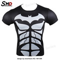 2016 Men New Fashion marvel Superhero Superman 3D T-Shirt Base short-sleeve Iron Man  clothing Cosplay Custume XXXXL