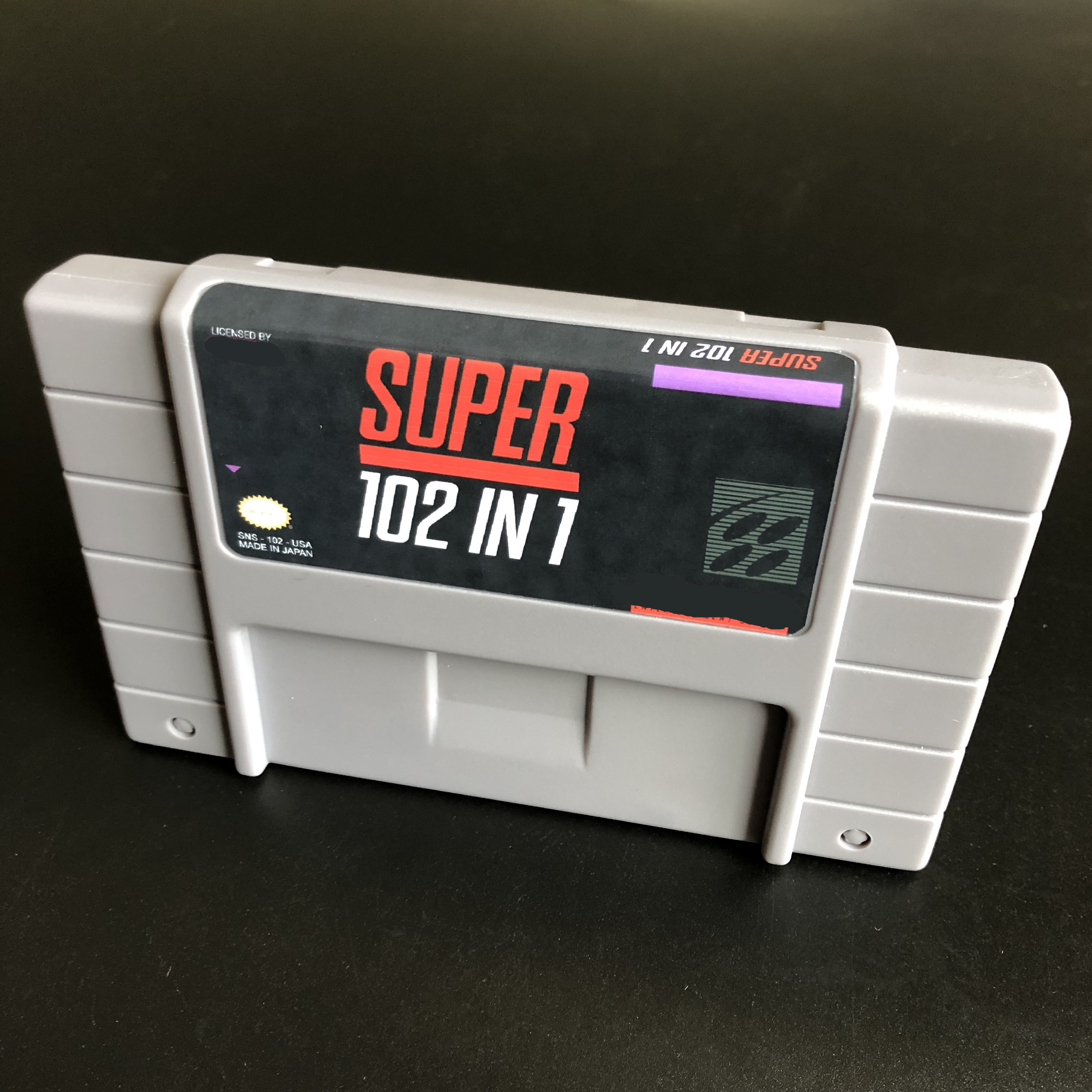Image 2 - Super 102 in 1/top gear/TMNT/Mega Man/Castlevania X/Zombies/Gradius 3/Contra 3/Bonkers For 46pins NTSC version Console !-in Memory Cards from Consumer Electronics
