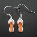 100% 925 Sterling Silver Fine Opal Jewelry Silver Earrings Drop Earring For Women Jewelry Flip Flop Jewelry Factory Wholesale