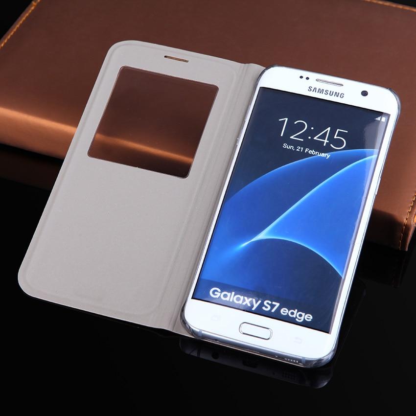 Slim Pəncərə görünüşü flip örtüklü, Samsung Galaxy S8 / S8 - Cib telefonu aksesuarları və hissələri - Fotoqrafiya 2