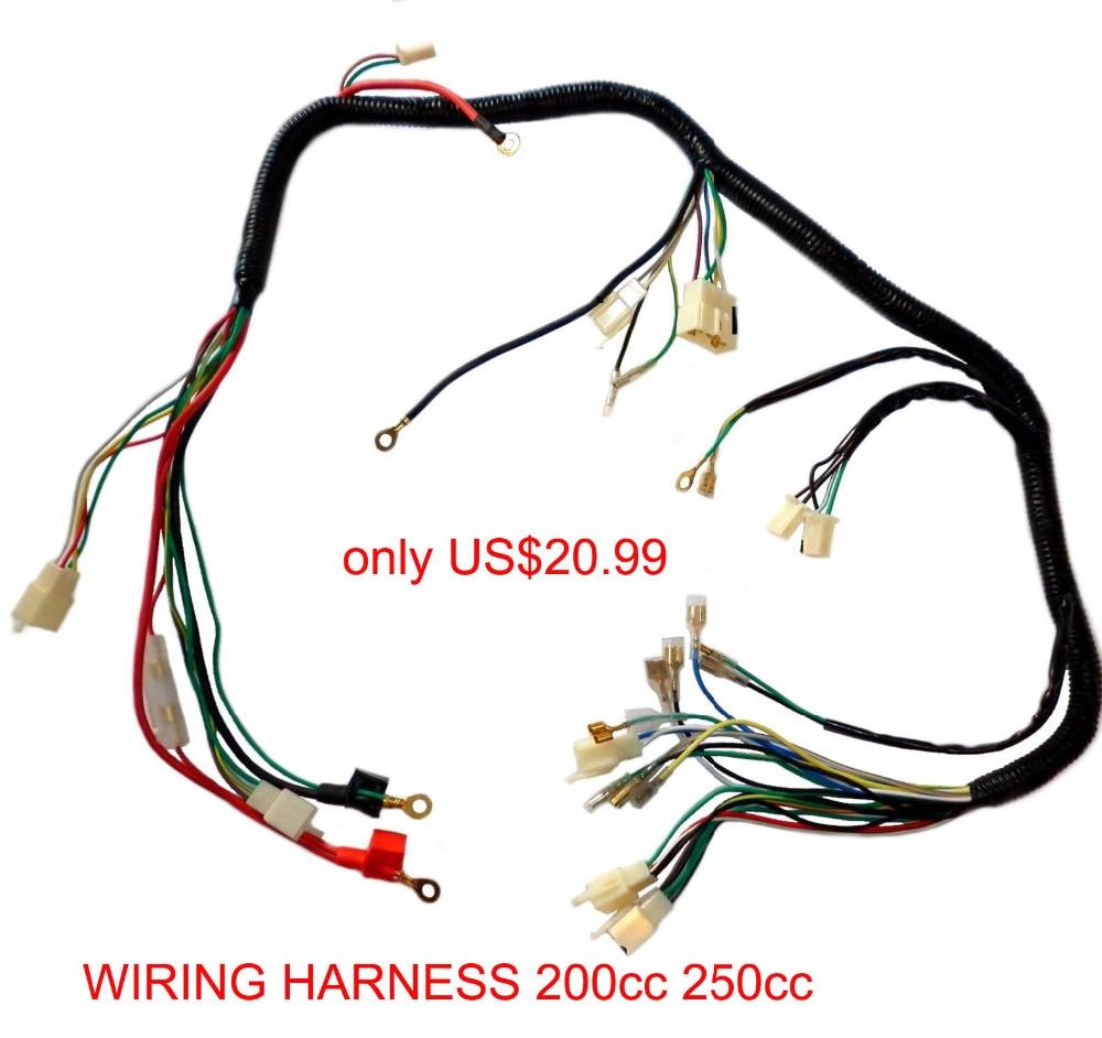 popular lifan 200 buy cheap lifan 200 lots from lifan 200 quad wiring harness 200 250cc chinese electric start loncin zongshen ducar lifan shipping