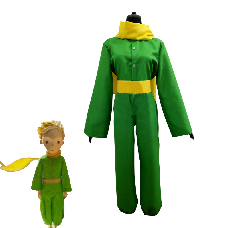France Cartoon Movie Le Petit Prince The Little Prince Cosplay Costume Halloween Carnival Uniform For Adult