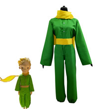 e19898059578 France Cartoon Movie Le Petit Prince The Little Prince Cosplay Costume  Halloween Carnival Uniform For Adult and Kids Custom Made