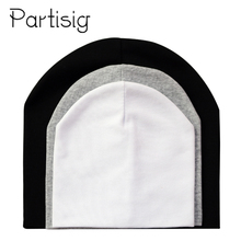 Baby Hats Cotton Solid Color Cap Childrens Beanie Hat For Boys And Girls Kids Winter