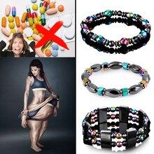 2019 fashion Health Energy lose weight Bracelets For Women  Magnetic Therapy Hematite Bracelet Mens Tiger Eye Men