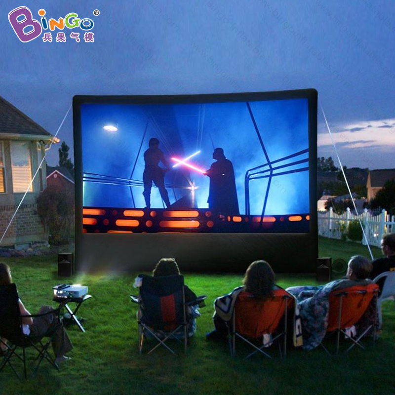 3X1.6X2.5 meters cheap inflatable movie projector screen / inflatable outdoor or backyard projection screen -inflatable toy 5m 16ft summer inflatable killer whale replica inflatable fish inflatable amusement ocean toy with free blower outdoor toy