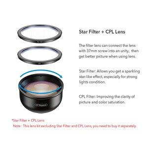 Image 2 - APEXEL HD 5 в 1 объектив для камеры телефона 4K широкоугольный макрообъектив для портрета объектив Super Fisheye CPL фильтр для iPhone Samsung всех сотовых телефонов