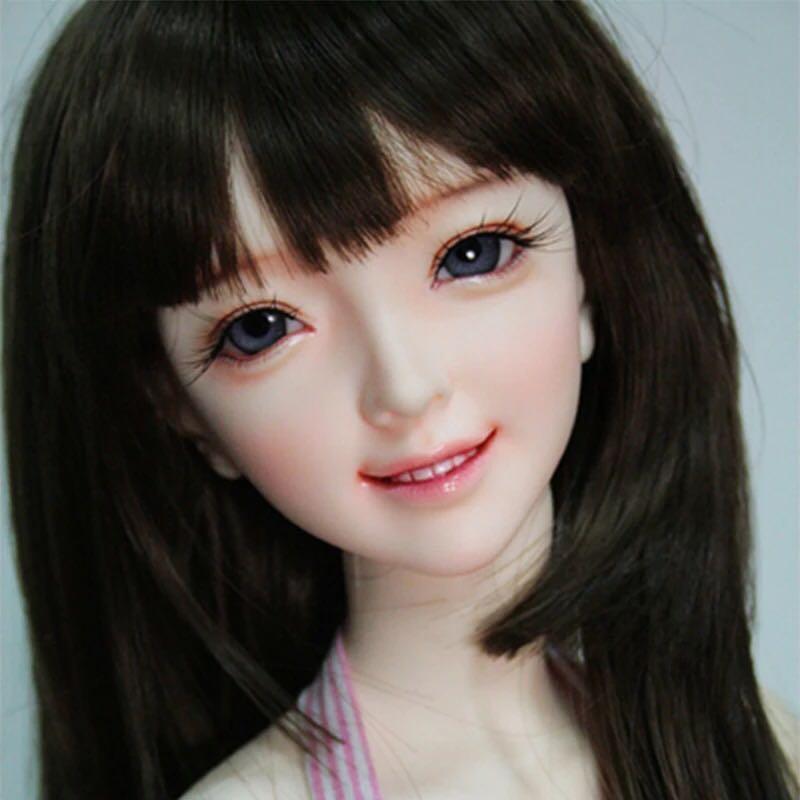 1/3 boneca bjd Hamin figuras de resina l kit boneca