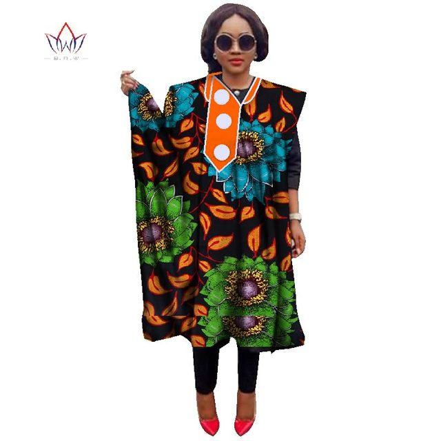 African Traditional Clothing for Women Tees Fashions Women Tops Dashiki African  Print Clothing Robe Gown Plus Size 6XL WY1193 eb7f1b1398f8