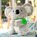 45 CM Nuevo Gris Koala Koalas de Simulación de Juguetes de Felpa Muñeca de Juguete Suave Animales de Peluche Juguetes Para Bebés Regalos de Australia Para cumpleaños