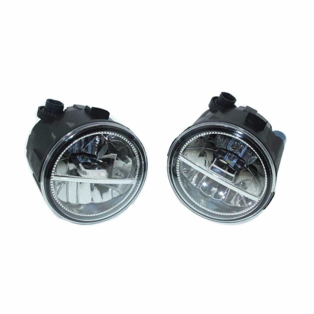 2шт для Ниссан Тиида седан SC11X 2006-2007 2008 2009 2010 2011 2012 передний Fumper светодиодные противотуманные огни автомобиля стайлинг ДХО Н11 светодиодные лампы