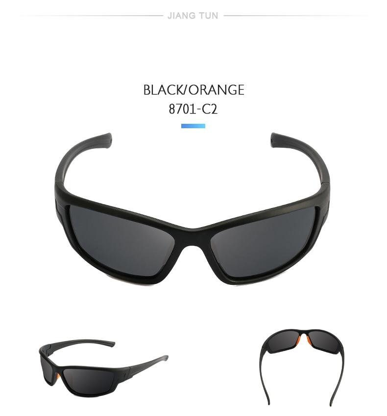 JIANGTUN TR90 100% óculos Polarizados Esporte Óculos De Sol Dos ... 8700898493