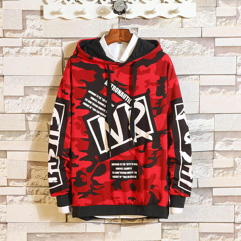 51ef90c9978c Detail Feedback Questions about VERSMA 2018 Korean Harajuku Ulzzang  Camouflage Couple Hoodie Sweatshirt Men High Street Hip Hop Oversize Long  Sleeve Hoodies ...