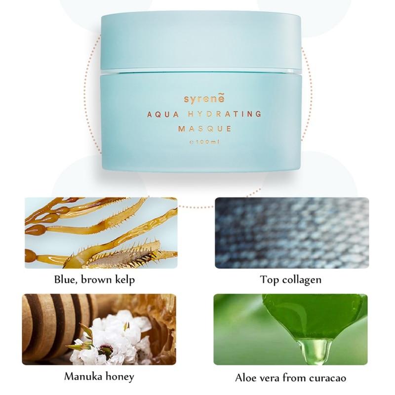 Masque nourrissant profond masque de réapprovisionnement en profondeur masque hydratant pour le sommeil soin de la peau