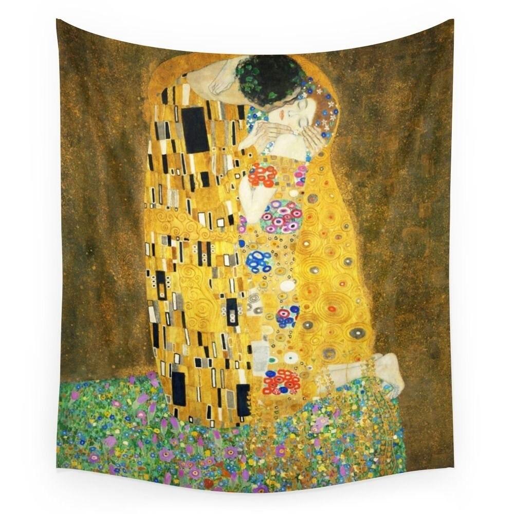 Klimt Adele famous painting Dancer Art tapestry 140*68cm Aubusoon ...