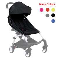 Generic Color Pack Sun Canopy Rain Cover and Seat Pad Cushion For Babyzen YOYO Baby Stroller