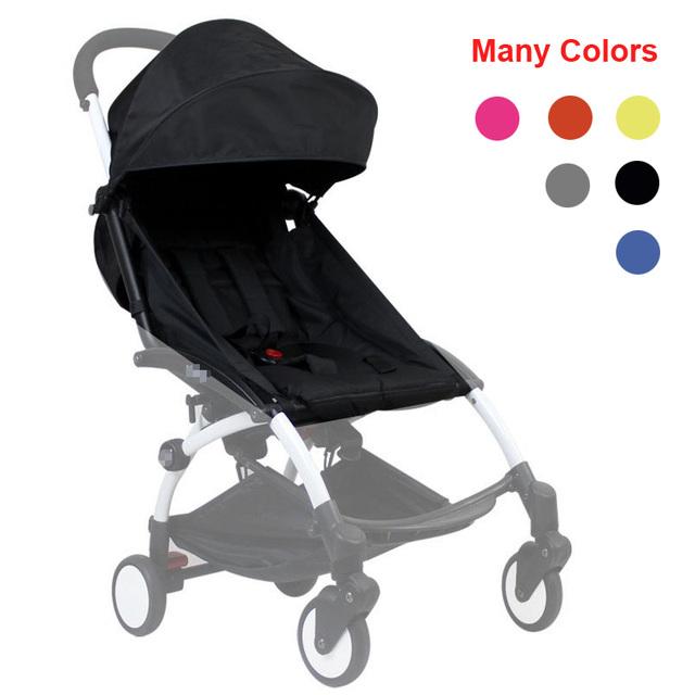Paquete de color genérico toldo lluvia cubierta de la almohadilla del asiento cojín para babyzen yoyo cochecito de bebé