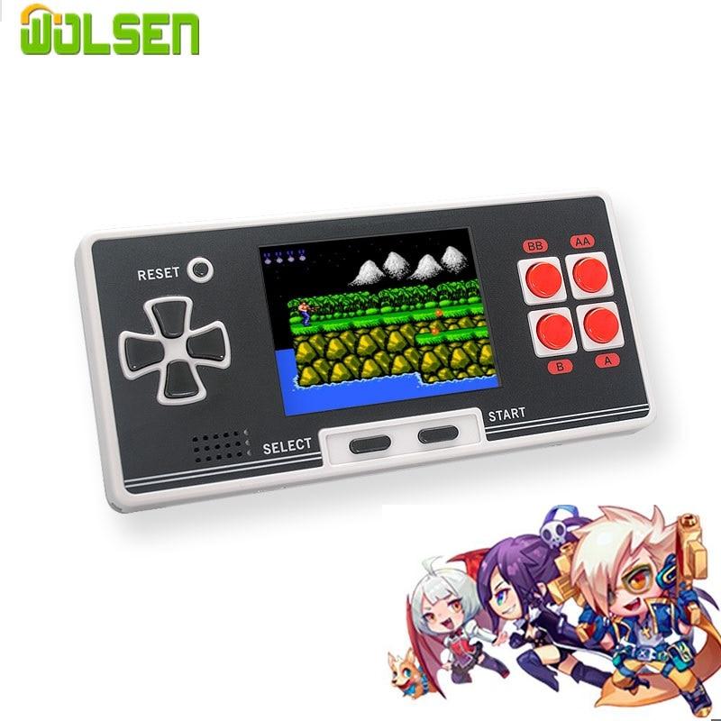 Unterhaltungselektronik Videospiele Wolsen 8 Bit Klassische Handheld-spiel-spieler 2,8 Inch Retro Video Spiel Konsole Gebaut In 200 Spiele Tasche Mini Beste Geschenk Für Kind Vertrieb Von QualitäTssicherung