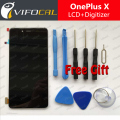 Oneplus X lcd display touch screen Sensor + Tools 100% New Digitizer Replacement For 5.0inch one plus X mobile phone