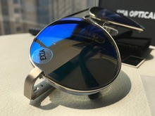 Unique Customized Optical Lenses Polarized High Vision Pilot Sunglasses for Men EXIA OPTICAL KD-505 Series